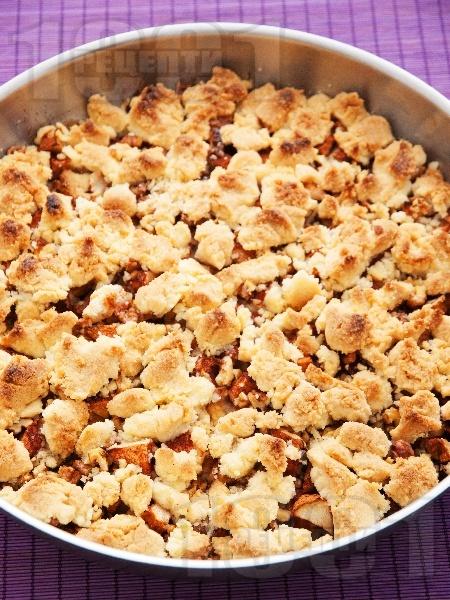 Френски фъдж с ябълки, орехи и канела - снимка на рецептата